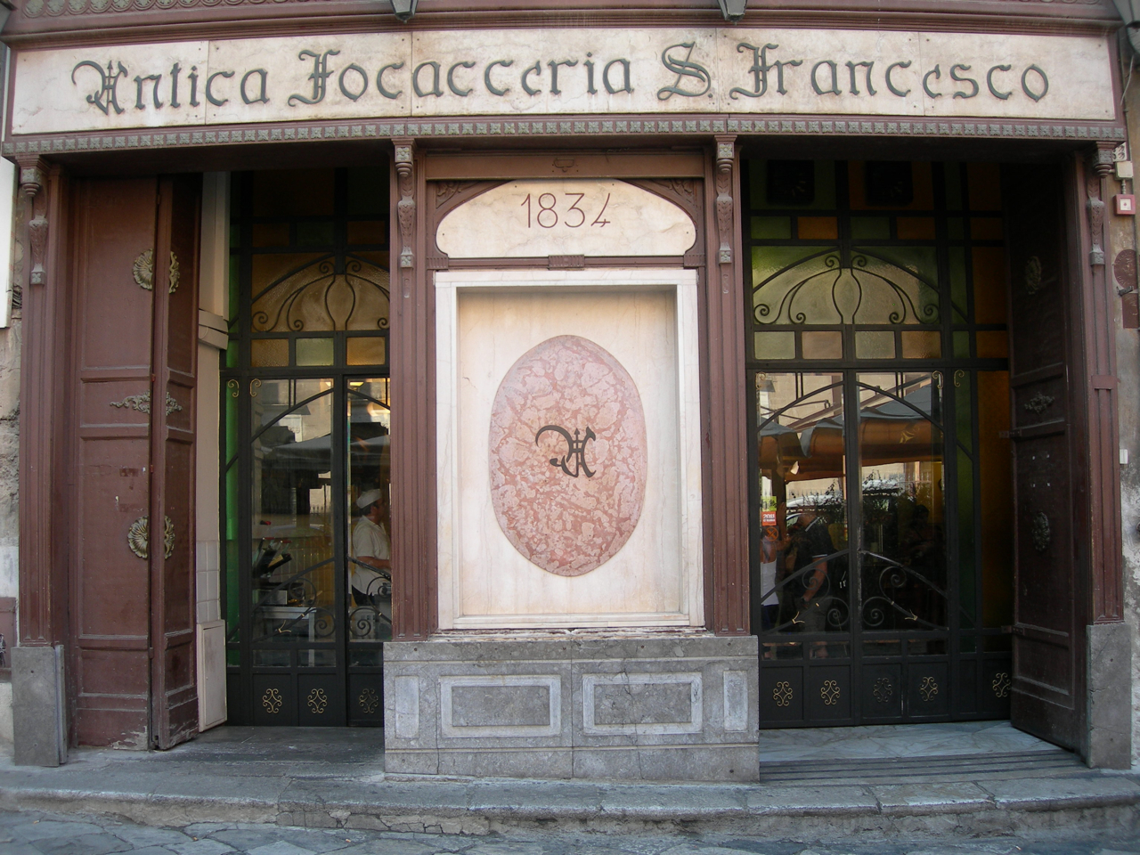 The Antica Focacceria San Francesco, Palermo