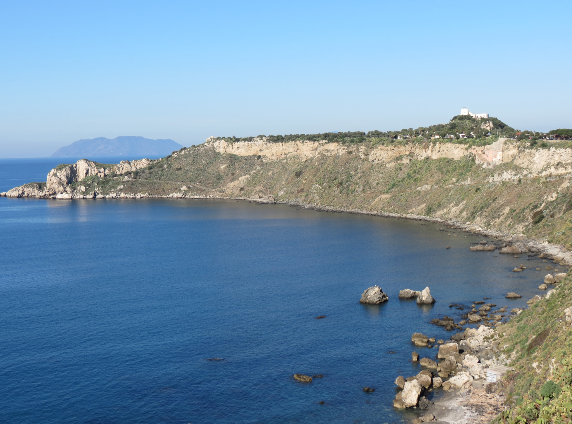 view of the Capo Milazzo