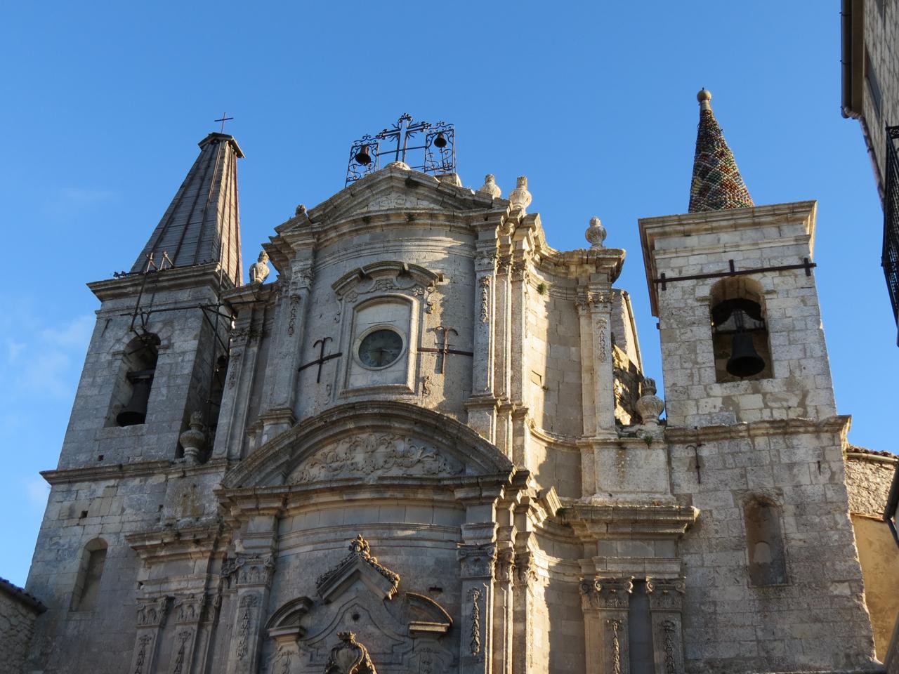 Facade of the church of Santa Maria di Loreto, Petralia Soprana, Sicily