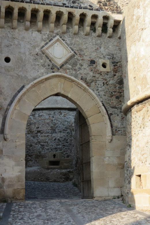 Milazzo castle