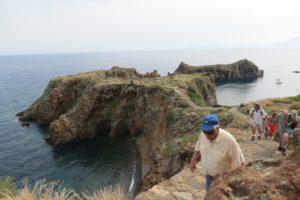 Visit to the Capo Milazzese, Panarea, Aeolian islands