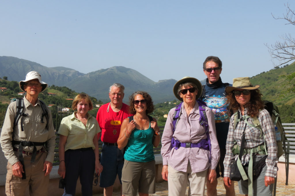 the group at Isnello