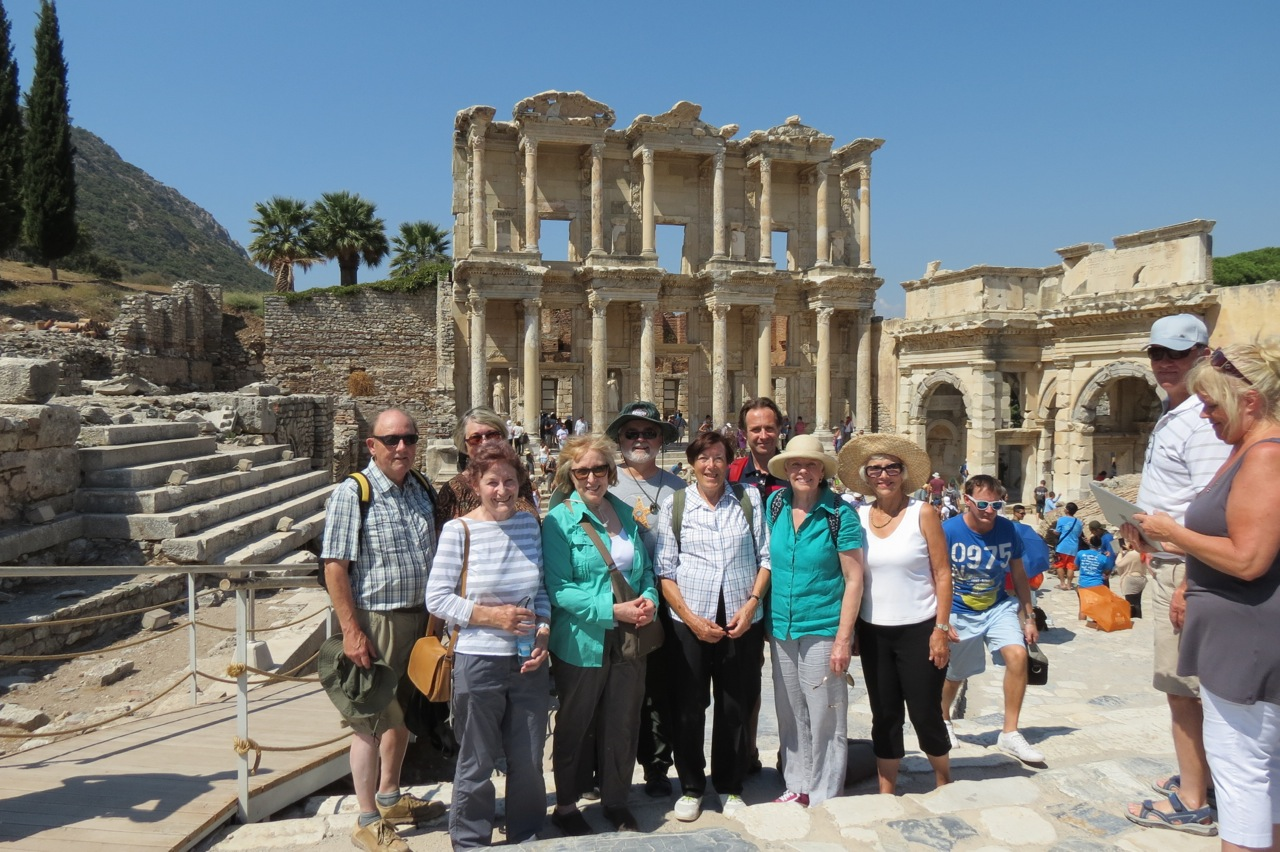 The library at Efes (Ephesus), Western Turkey