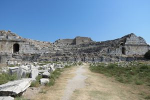 Theatre at Miletus, Western Turkey