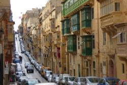 Street view, Valletta