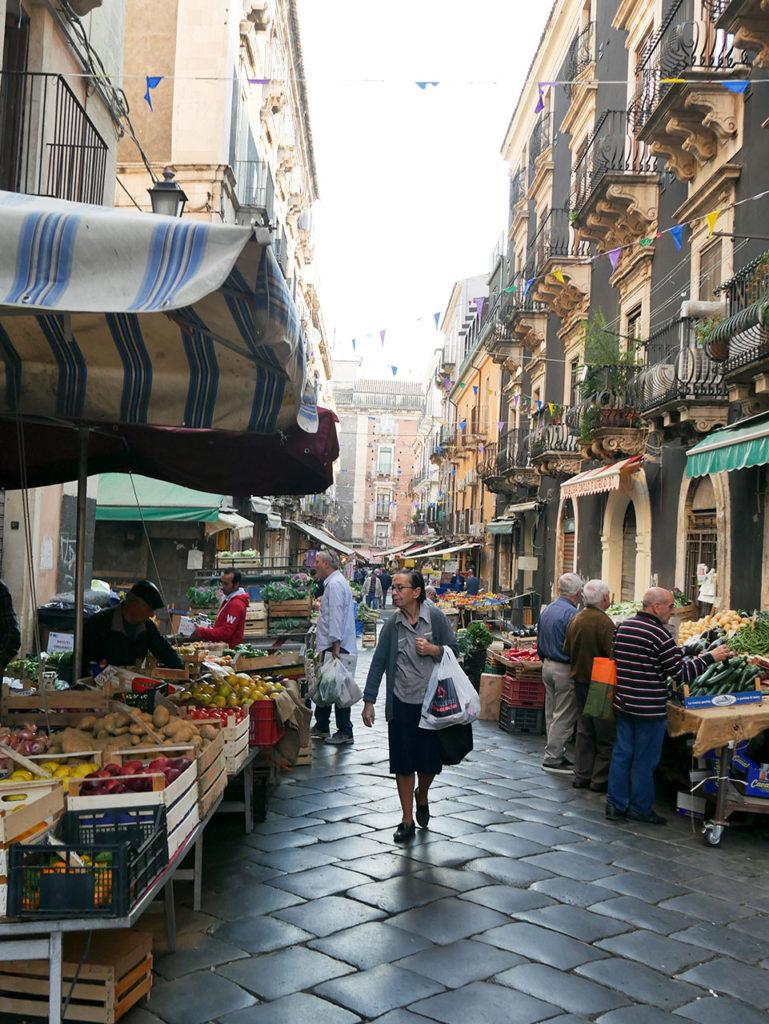 Market in Catania