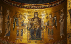 Byzantine mosaics in Monreale cathedral