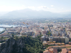 View from the castle in Milazzo