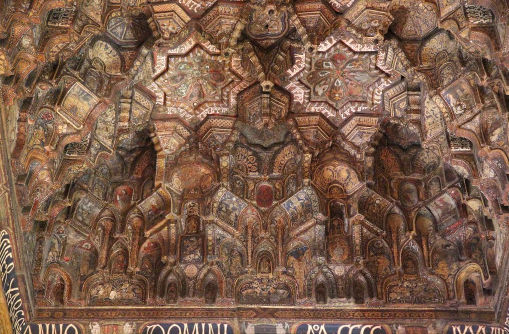 ceiling of the Palatine chapel, Palermo