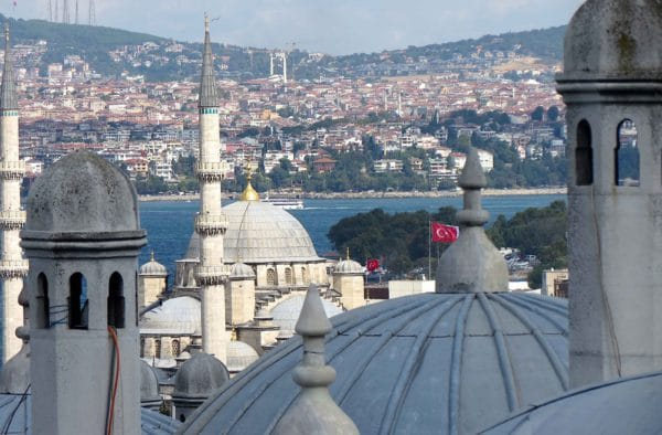 View over the Bosphorous, Istanbul