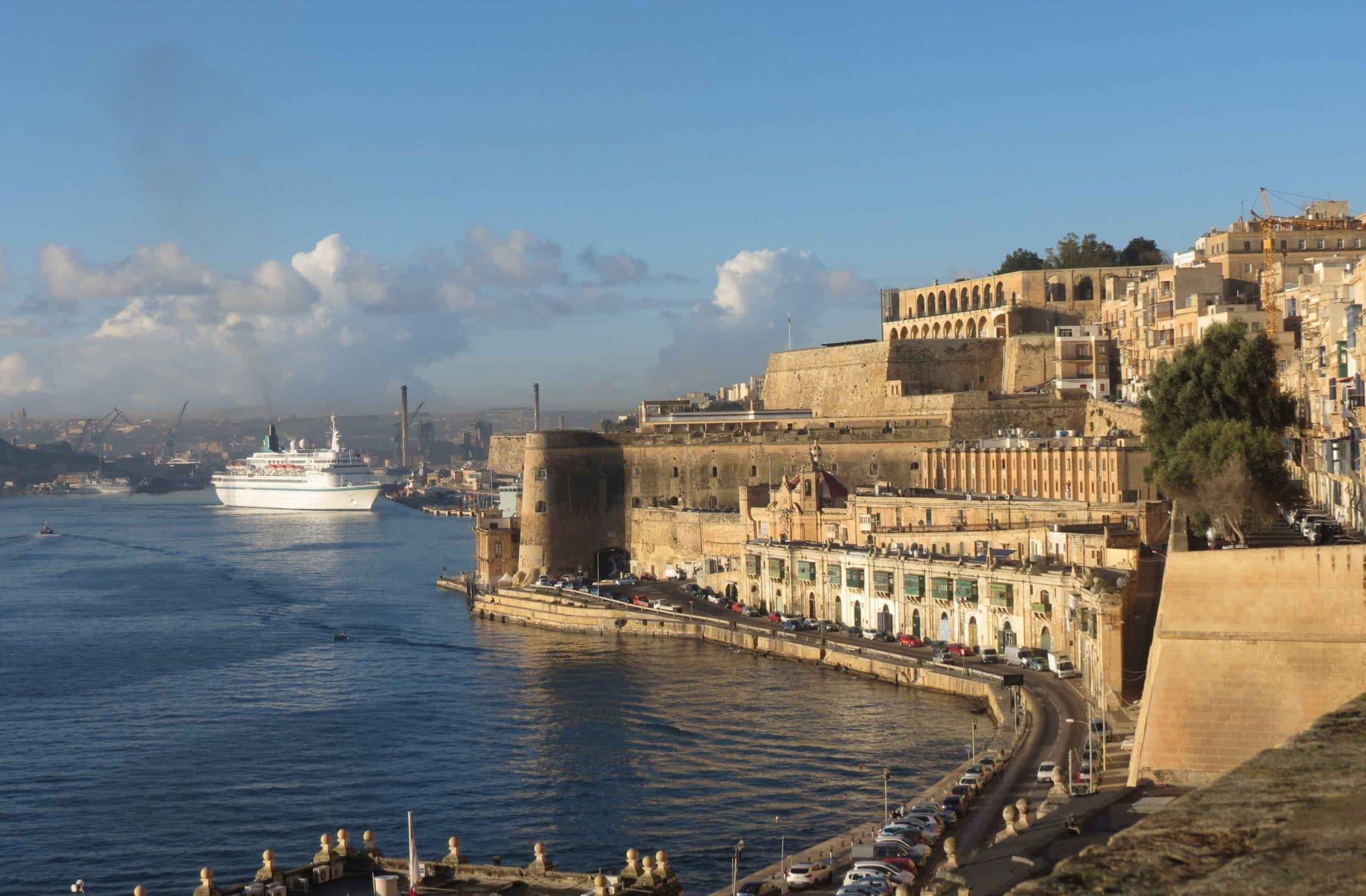 Valletta Harbour, Malta