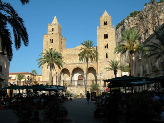 The duomo at Cefalù