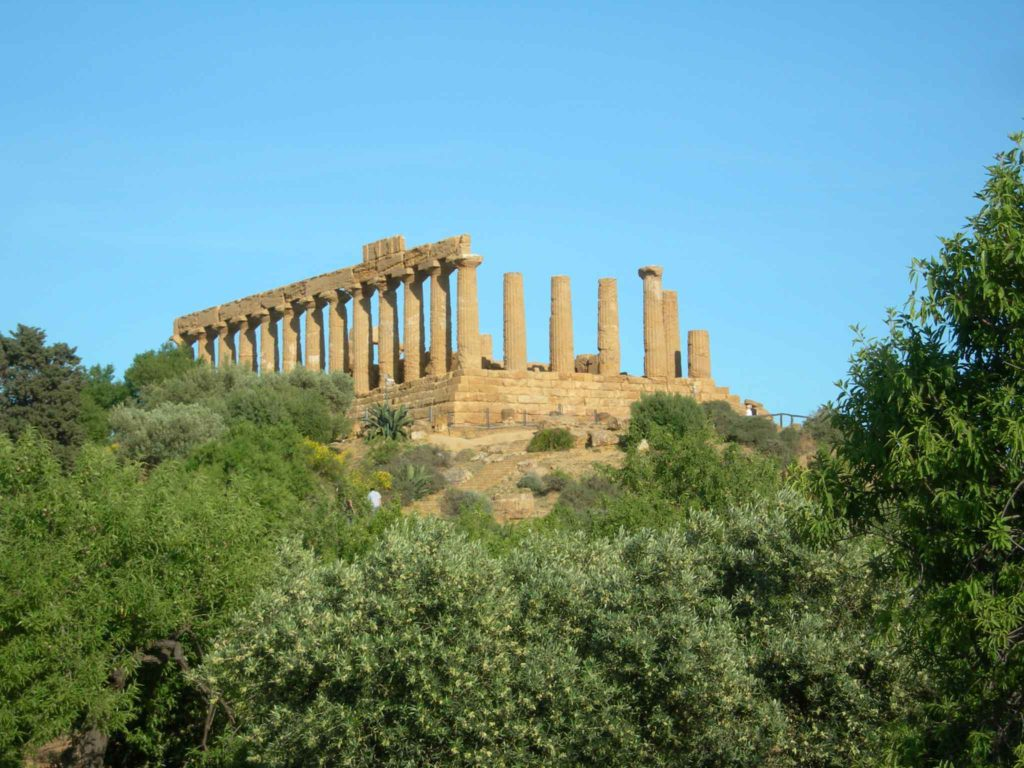 Temple of Hercules at Agrigento