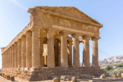 The temple of Concordia at Agrigento