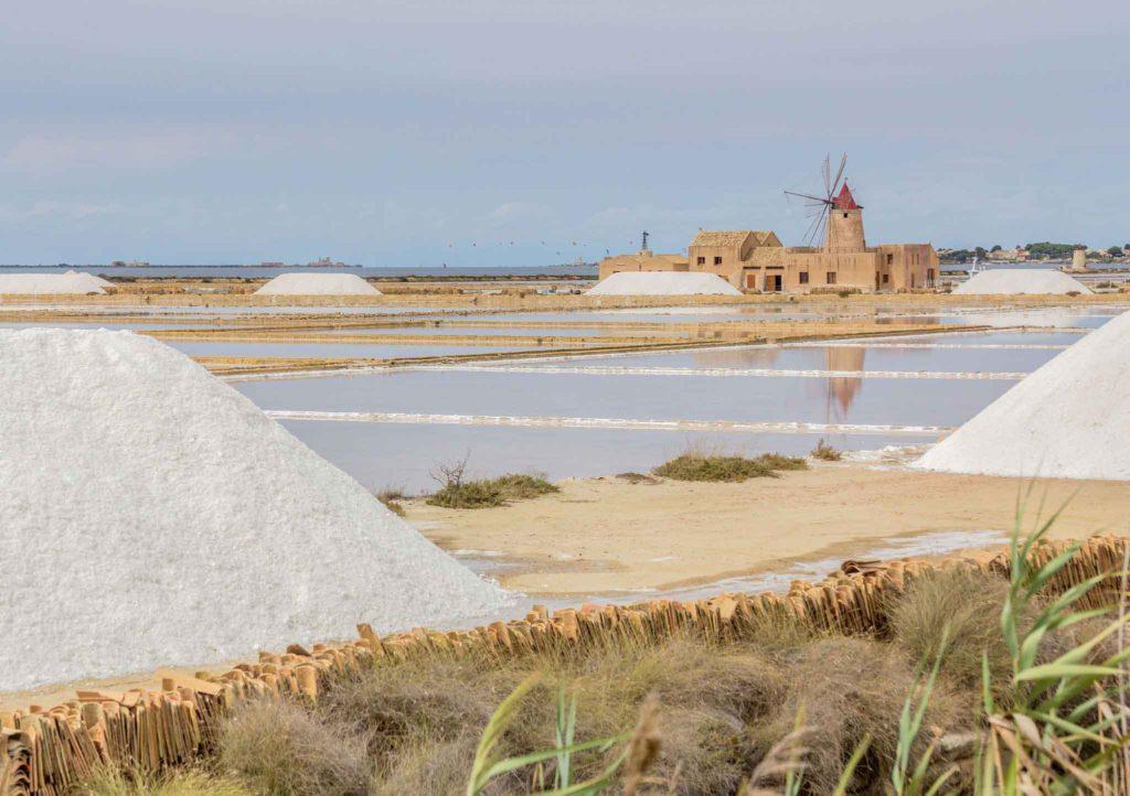 Salt pans at Marsala