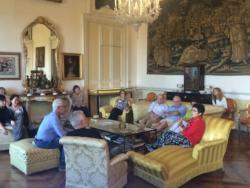 The living room of Giuseppe Tomasi di Lampedusa