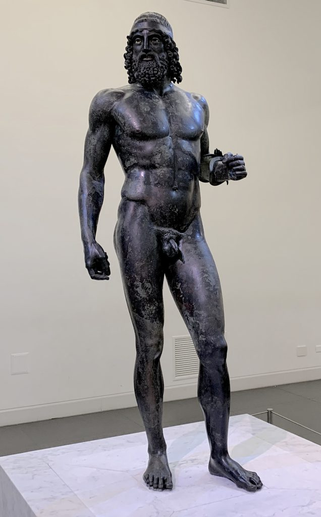 One of the Bronzes of Riace