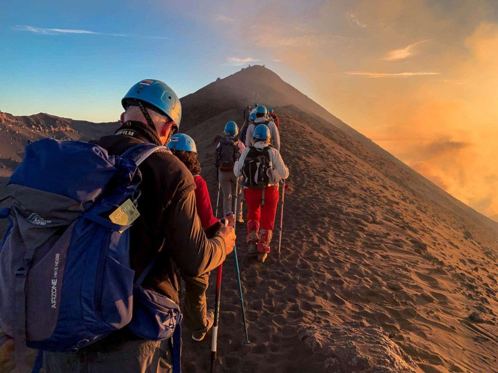 Ascent of Stromboli