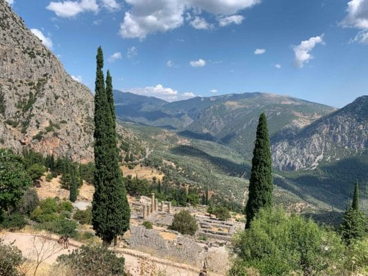View over Delphi