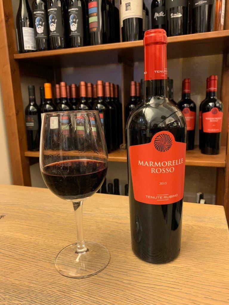 Negroamaro - a typical Salentino red wine