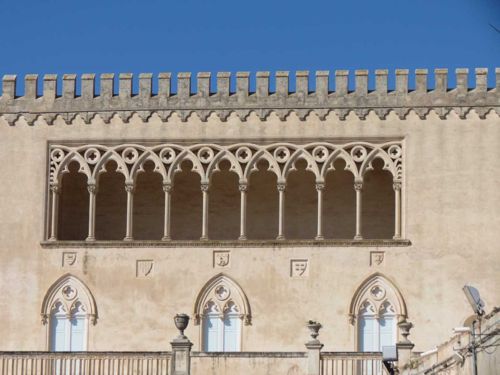The castle of Donnafugata