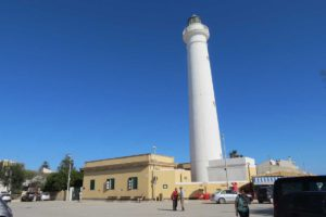 The lighthouse at Punto Secca