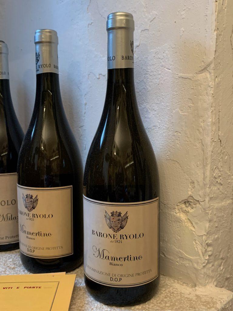 Mamertino wine