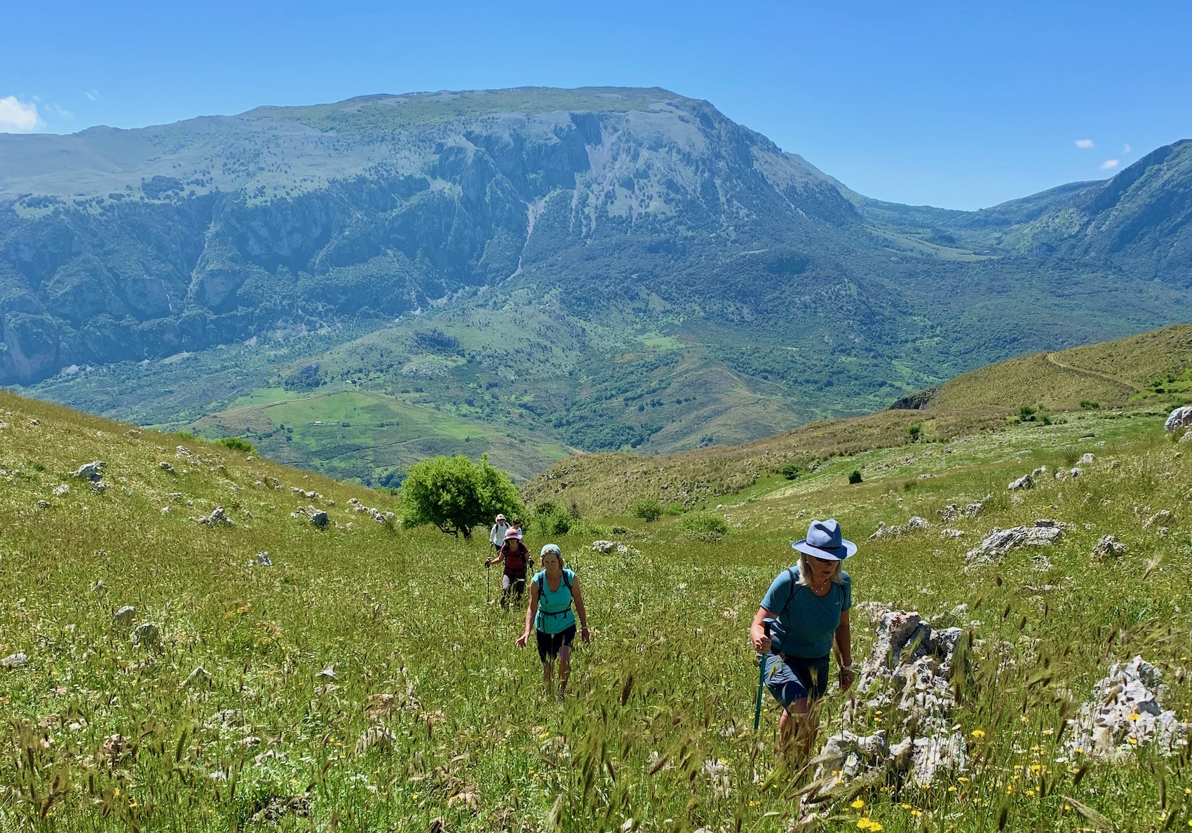 Walking in the Madonie Mountains